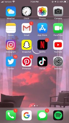 Organize Apps On Iphone, Apps For Girls, Iphone App Layout, Phone Organization, Bullet Journal Ideas Pages, Instagram And Snapchat, Best Apps, Facetime, Homescreen
