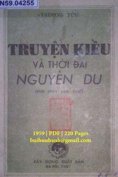 Truyện Kiều Và Thời Đại Nguyễn Du (NXB Xây Dựng 1959) - Trương Tửu, 220 Trang   Sách Việt Nam Event Ticket