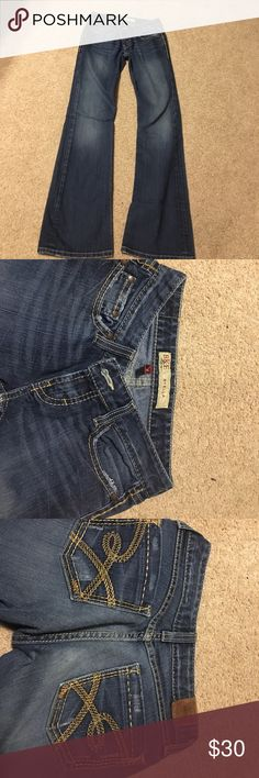 BKE flare jeans Only worn a few times, size 26. Smoke free home. Buckle Jeans Boot Cut