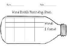 Tunstall's Teaching Tidbits: Discovery Bottles