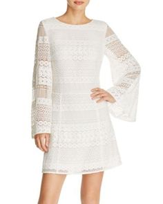 Rebecca Minkoff Grin Eyelet Lace Dress | Bloomingdale's