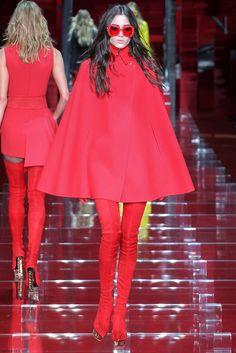 Versace fall/winter 2015 collection - Milan fashion week. #versace
