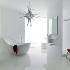 White color interior design