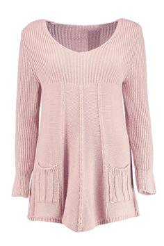 Grace Knitted Swing Dress