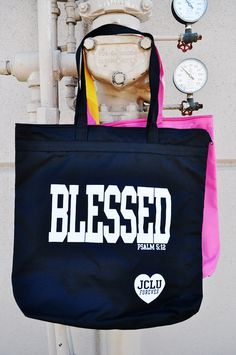 BLESSED TOTE  by JCLU Forever Christian t-shirts