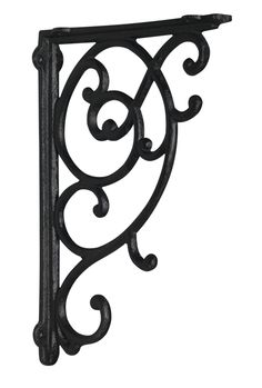 "Use these for long shelf above dining area...12¼"" x 1½"" x 8¼""  Antique Chelsea Corbel (Cast Iron)"