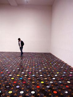Vinyl ground! Future music room?