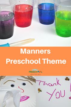 Manners Theme For Preschool