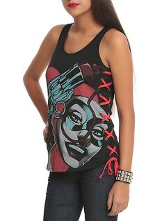 DC Comics Harleen Harley Quinn Girls Tank Top | Hot Topic