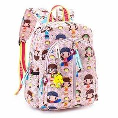 Objective Disney Childrens Backpack Bowknot Mickey Schoolbag For Girls And Boys Fashion Kindergarten Bag For Kids. Dolls & Stuffed Toys