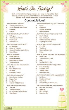 Whats she thinking Bridal shower game http://www.beau-coup.com/wedding/exclusive-personalized-whats-she-thinking-game.htm