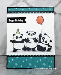 Image result for stampin up party pandas