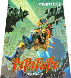 """ナムコ「バラデューク」テーブルポップ / Namco """"Baraduke"""" Table Pop #arcade #games #retro"""