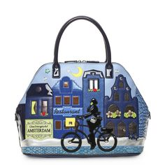 CARTOLINE AMSTERDAM bag by Braccialini