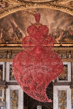 Joana Vasconcelos at the Ajuda Palace, Lisbon