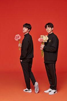 bts 2018 x puma jin & jungkook Jung Hoseok, Puma Bts, Bts Puma Shoes, Foto Bts, K Pop, Seokjin, Les Bts, K Wallpaper, I Love Bts