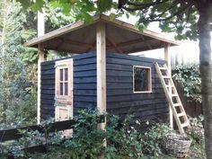 Hooiberg op maat gemaakt van douglas hout. Te gebruiken als schuur, berging, dierenverblijf, kinderspeelhuis etc..www.vanviegen.com