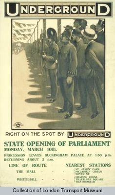 State Opening Of Parliament #London Underground