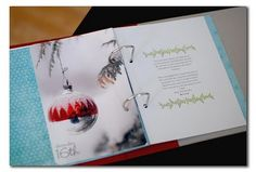 December Daily - love the whole page photos that are clean and crisp with room for journaling