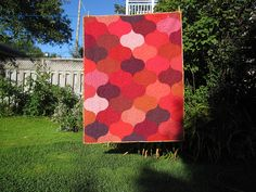 wonderful modern quilt pattern.