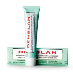 Denblan Whitening Toothpaste | 17 French Drugstore Beauty Products That Actually Work