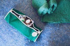Estuche verde - ideal para guardar los chupetes #ordenencasa #organizarlacasa #nordichome #nordicstyle #shopnordico #blafre #nordicsdesign #diseñonórdico