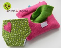 Puppen feuchttüchertasche aus Filz und windel nähen - Craftaholics Anonymous® | Baby Doll Diapers and Accessories TUTORIAL {Guest Blogger: Christina from 2 Little Hooligans}