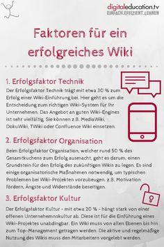 Welche Faktoren sind für die Umsetzung eines erfolgreichen #Wikis essentiell? — digitaleducation.tv - einfach.effizient.lernen mit Video-Trainings in SCORM