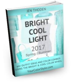 Bright, Cool & Light Color Style Guide (2017 Spring/Summer Edition)