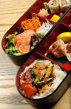 food presentation | Nobu Lunch Box by Nobu Budapest