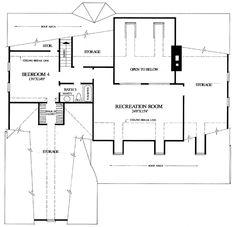2nd floor bonus room floor plan