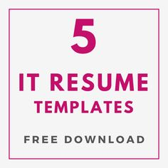 Get Free Resume Template Resume Template Examples, Resume Template Free, Creative Resume Templates, Resume Layout, Resume Design, First Resume, Interview Answers, Create A Resume, Modern Resume