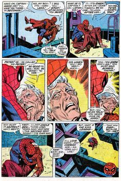 The Death of Captain Stacy (from Amazing Spider-Man 90)