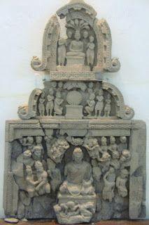 Attack by Mara and His Host Gandhara Archives Kurita