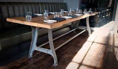 Résultats de recherche d'images pour «cast iron table legs»