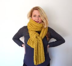 The Funky Monkey Giveaway!  Win a Handmade Scarf of your choice from CdCkdesign - 2 WINNERS!  Ends 12/1/15