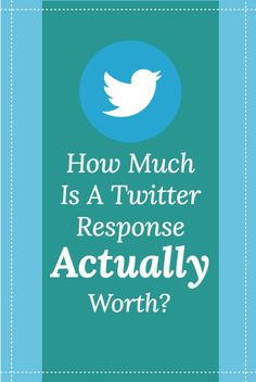How Much Is A Twitter Response Actually Worth? - Meet Edgar Twitter Stats, Twitter Bio, About Twitter, Social Media Trends, Social Media Content, Online Marketing, Social Media Marketing, Digital Marketing, What Is Twitter