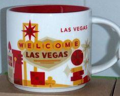 Starbucks City Mug You are Here in Las Vegas