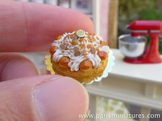St Honoré Classic Caramel French Pastry 12th by ParisMiniatures