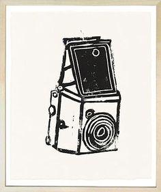 Art Wall - John Derian Company Inc — Hugo Guinness Print Box Brownie Camera