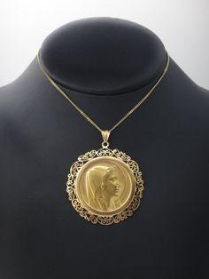 Coin Pendant, Gold Pendant Necklace, Pendant Set, Pendant Jewelry, Coin Jewelry, Gems Jewelry, India Jewelry, Ankle Bracelets, Gold Coins