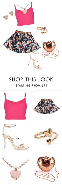 """""""valentines day outfit ideas <3"""" by planeta-janeta56903 on Polyvore featuring Ted Baker, Sophia Webster, Alex and Ani, MICHAEL Michael Kors, women's clothing, women, female, woman, misses and juniors"""