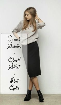Harlem Home: How to Wear it: Midi Pencil Skirt