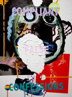 From Rod Bianco Gallery, Sverre Bjertnes & Bjarne Melgaard, Untitled Oil and acrylic on canvas, 157 × 117 × 5 cm Institute Of Contemporary Art, Collage Art, Collages, London Art, Artist At Work, Artsy, Graphic Design, Fine Art, Art