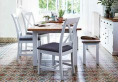 Parquet Dining Range #paintedfurniture #home #trend #decor