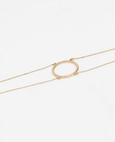 f04190805da8 ZARA - WOMAN - 3-PACK OF RINGED CHOKER-STYLE NECKLACES