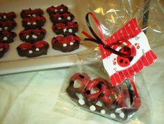 Ladybug Baby Shower Favor Idea    #ladybug #birthdayparty #babyshower #Modern #Ladybug