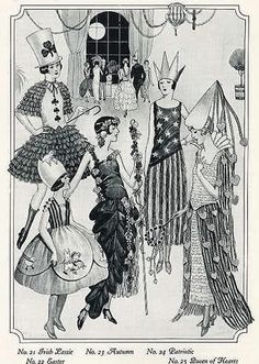 Vintage Clothing Blog - 1920s Halloween Costumes