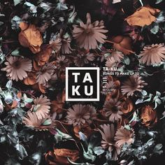 Meet the Artist Behind Ta-Ku's Gorgeous Floral Album Covers | The Creators Project