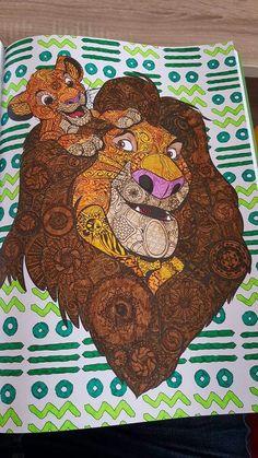 Rey León simba y mufasa